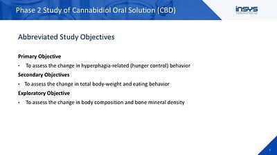 CBD Objectives