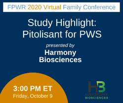 Pitolisant for PWS