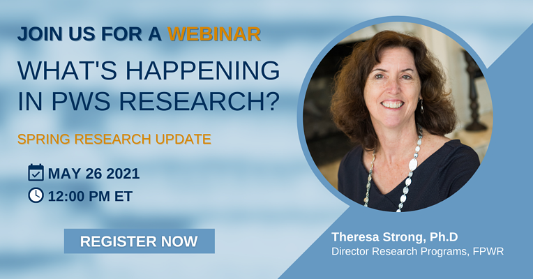 WEBINAR: What's Happening In PWS Research? Spring Research Update.