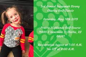 3rd Annual Savannah Strong Charity Golf Classic