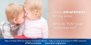 PWS Awareness Month Social Media Graphics