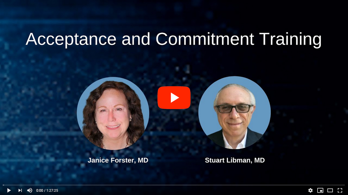 Acceptance and Commitment Training for PWS Parents [2020 CONFERENCE VIDEO]