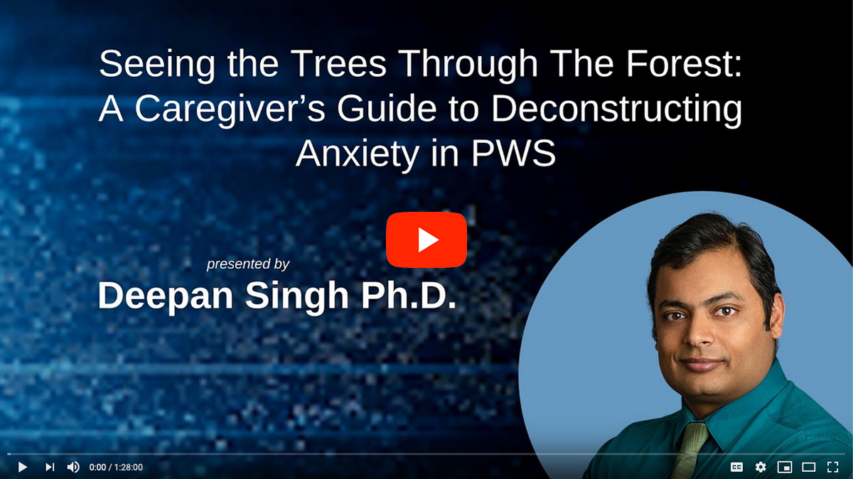 Deconstructing Anxiety in PWS [2020 CONFERENCE VIDEO]