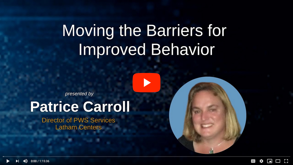 Moving Barriers for Improved Behavior in PWS [2020 CONFERENCE VIDEO]