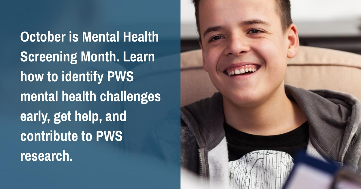 How to Identify Mental Health Challenges in Your Loved One with PWS
