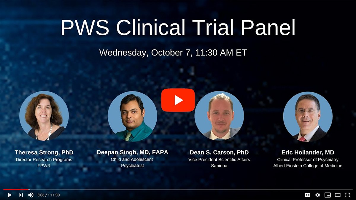 PWS Clinical Trials Panel [2020 CONFERENCE VIDEO]