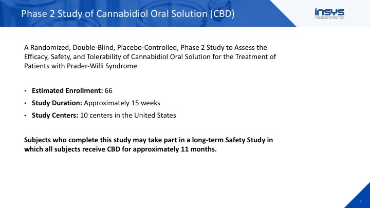 PWS Clinical Trial Webinar: Cannabidiol (CBD)