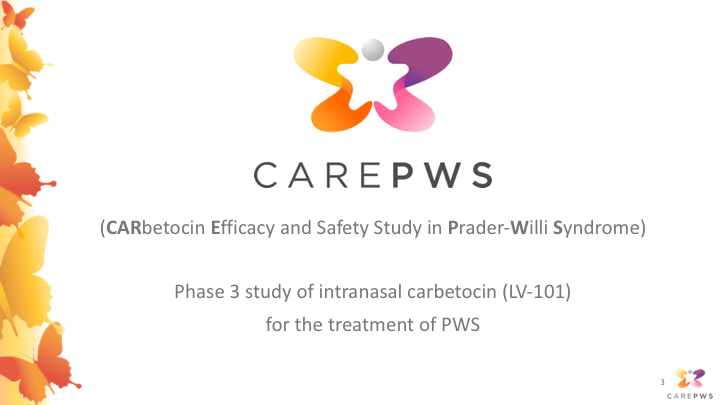 PWS Clinical Trial Webinar: Carbetocin