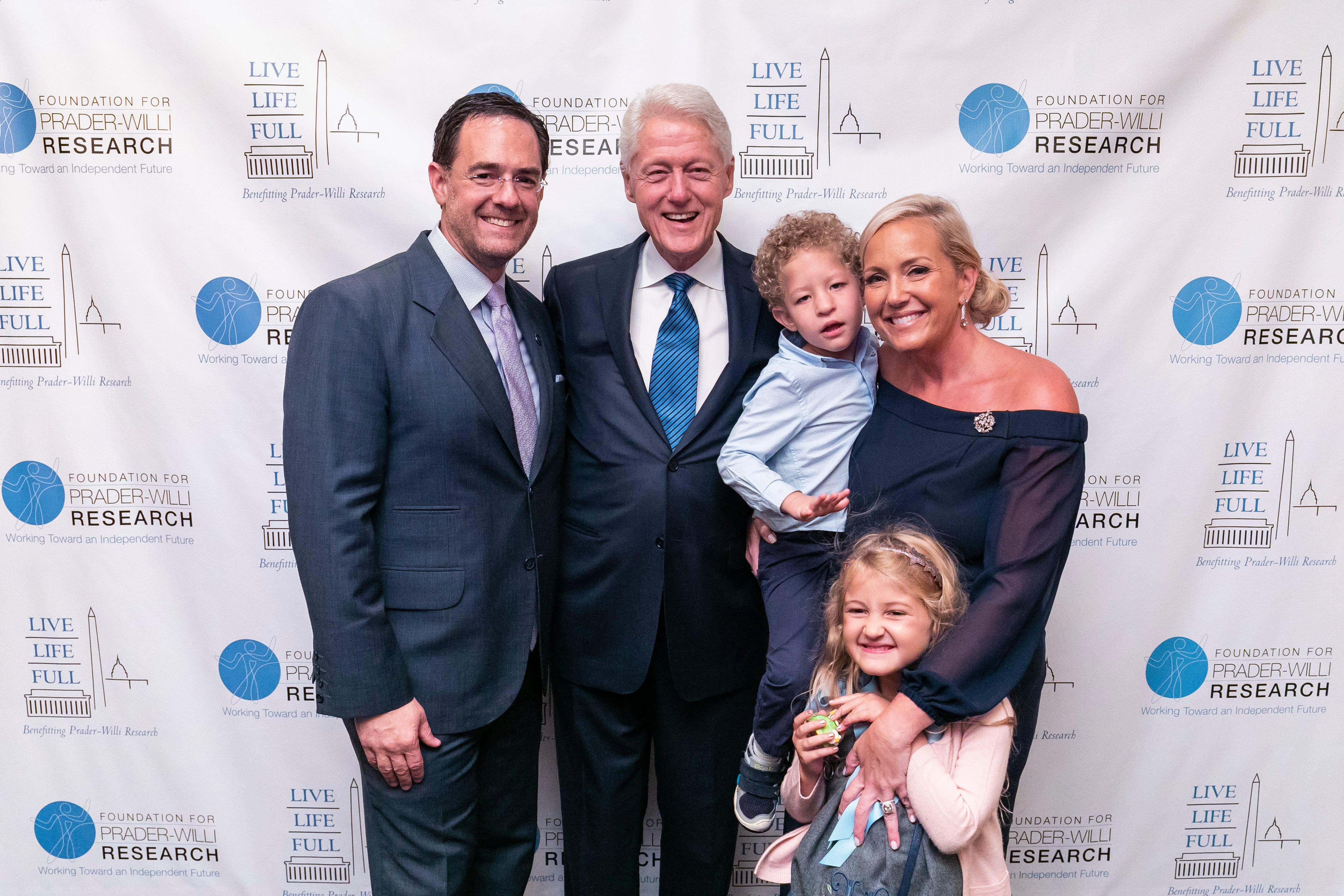 President Bill Clinton, Timothy Shriver Headline 2018 Live Life Full Gala