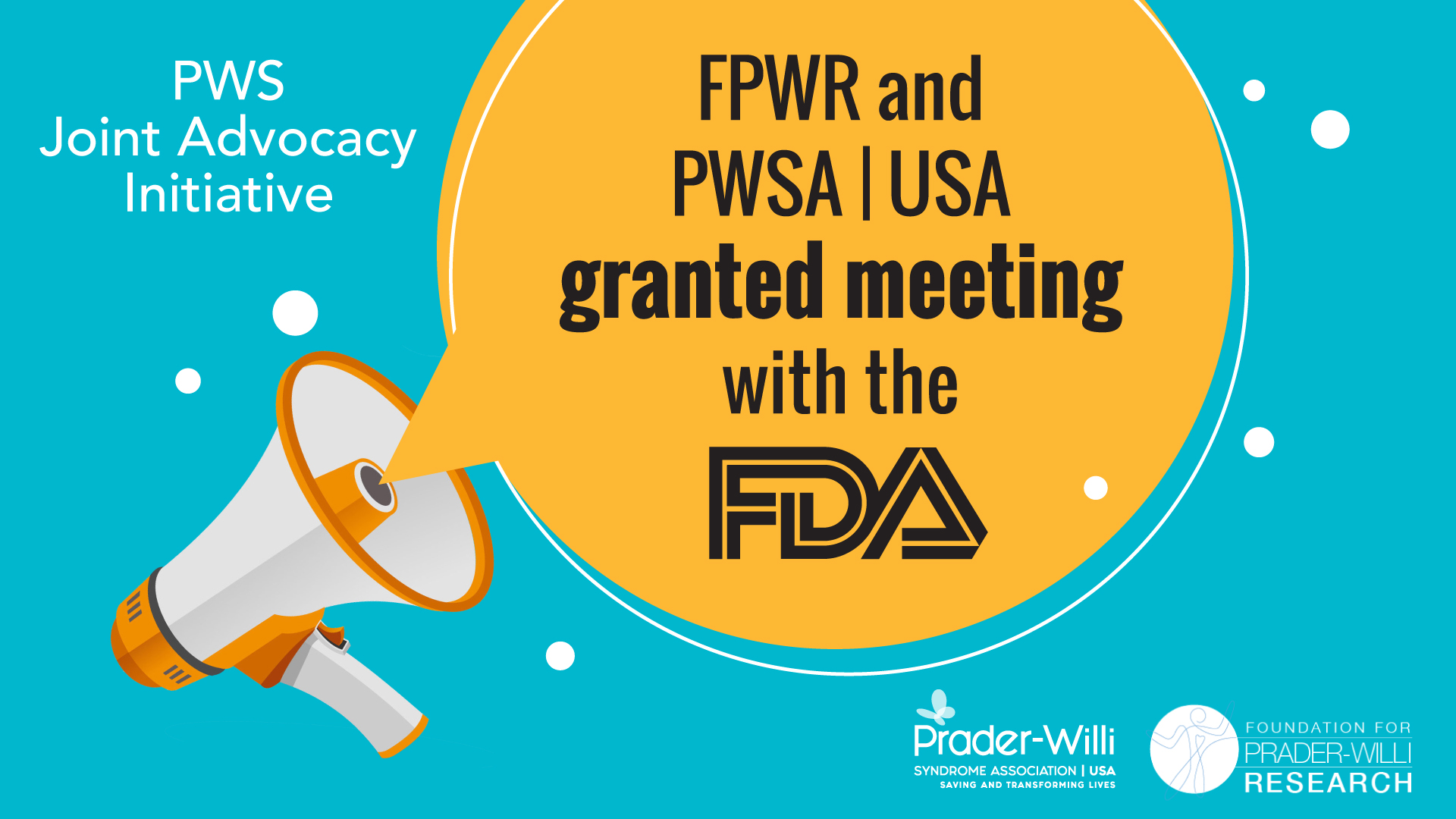FPWR and PWSA | USA Announce Upcoming Meeting with FDA