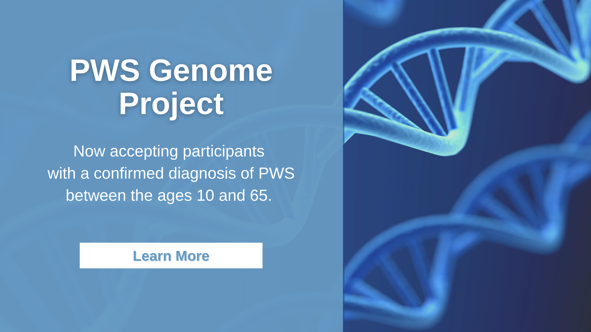 FPWR Launches First of Kind PWS Genome Project