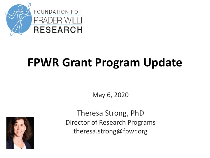 FPWR Announces First Round of 2020 Grant Awards for PWS Research