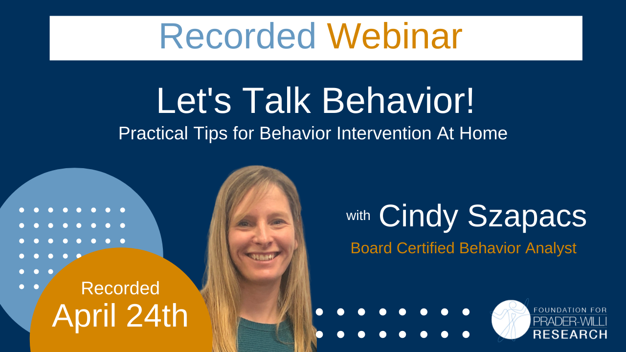 Practical Tips for Behavior Intervention At Home