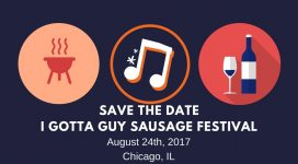 Save the Date I gotta guy
